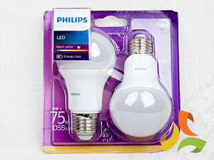 (2-pak) Żarówka LED 75W A60 E27 WW 230V FR ND 2BC/6 871869658611200 PHILIPS*